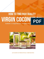 Learn to Find High Quality Virgin Coconut Oil