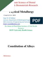 Constitution of Alloys
