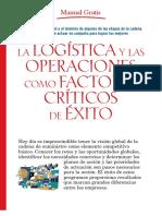 Manual Gratis de Logística y Operaciones Como Factores de Éxito