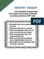 Peraturan SPBT