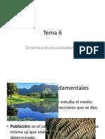 Tema 6 Ecología