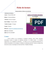 Fiche de Lecture Du Guide Du Marketing Territorrial