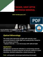 02. Prinsip Dasar_sifat Opt_identifikasi Mineral_1529442893