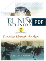 2001 Caviedes - El Niño in History. Storming Through the Ages