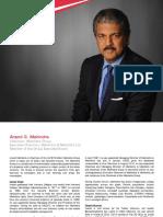 Bio Anand Mahindra Mahindra 19-07-2017