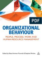 Organizational Behaviour_people, Process, Work and Resource Management