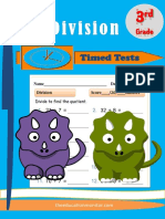 Timed Division Math Grade 3.pdf