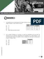 Guía Medidas de Tendencia Central y Posicion