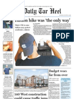 The Daily Tar Heel (August 23, 2010)