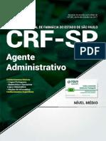 Ot030-17 - Crf-sp - Agente Administrativo
