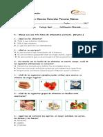 CIiencias 3° los alimentos 2017