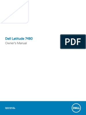 Dell Latitude 7480 Owner's Manual | Booting | Bios
