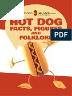 Hotdog Facts Figures Folklore Brochure