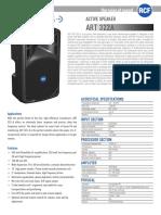 En_ART 322A Spec Sheet