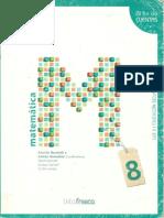 Matematica 8 - Tinta Fresca