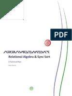 Relational Algebra & Syncsort
