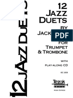 Jack Gale 12 Jazz Duets for Trumpet and Trombone