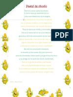 Poema Pastel de Choclo