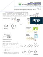 M - 2 Structure and Chemical Composition of Nucleic Acid