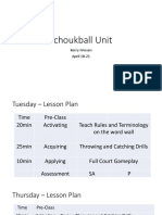 tchoukball unit