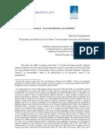 PERONISMO Y DEMOCRACIA LA REVISTA UNIDOS EN EL DEBATE MARTINA GARATEGARAY.pdf