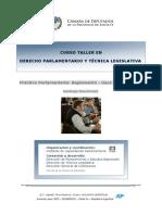 Curso Taller en Derecho Parlamentario y Tecnica Legislativa