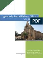 Iglesia Sta Bárbara (Minas de Riotinto)
