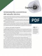 07 - Antecedentes Economicos Del Estudio Tecnico
