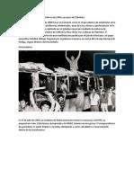 Movimiento Estudiantil en México de 1968 y Masacre de Tlatelolco