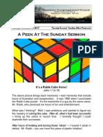 Pastor Bill Kren's Newsletter - November 5, 2017