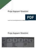 Proje Kapsam Yönetimi