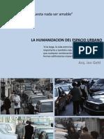 Sesion 02 Humanizacion Del Espacio Urbano