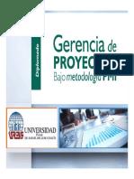 Gerencia de proyectos - Monitoreo y Cierre