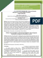 Gestão Pública e Sustentabilidade - O Desenvolvimento Sustentável No Contexto Político Do País