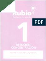 Rubio. Estimulación cognitiva. 1. Atención y concentración.pdf