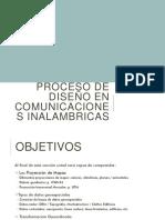 Proceso de Diseño en Comunicaciones Inalambricas