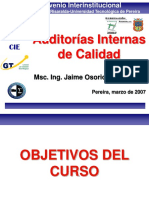 Auditorías internas 17025