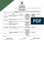 Be Form 2 School Work Plan