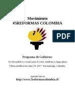 Programa de Gobierno 2