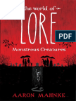 World of Lore  - 50 Page Friday
