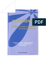 Inteligência (Intelligence) - O que nos torna uma especie inteligente - Roazzi et al. 2008 (com capa e indice)