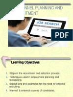 Ppt 03 Planning Recruitment