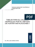 Universidad Tablas Para El Calculo Hidra