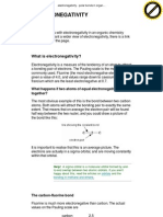 Polar Bonds in Organic Compounds