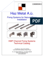 3- HMP Channels Technical Information