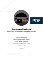 Student Privacy Report