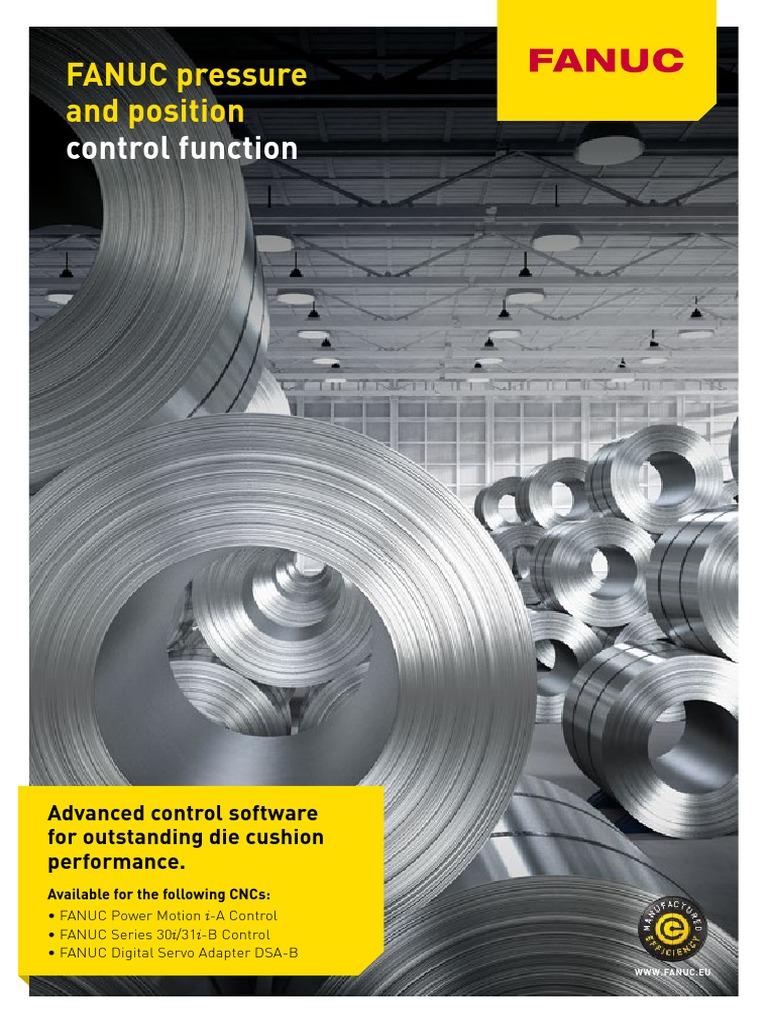 FANUC Pressure Control-En | Servomechanism | Numerical Control