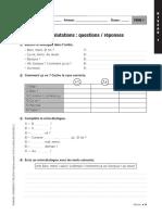 Cuaderno Frances 1-20