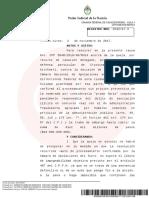 Ratificaron el procesamiento y embargo por 10.000 millones de pesos a Cristina Fernández de Kirchner