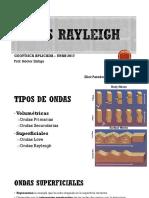 Ondas Rayleigh - Sísmica Geofísica 2017